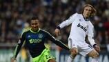 Luka Modrić fue uno de los jugadores más destacados del triunfo del Real Madrid CF sobre el Ajax