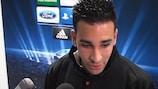 Adil Rami habla con UEFA.com