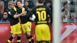Marcel Schmelzer et Robert Lewandowski (Borussia Dortmund)