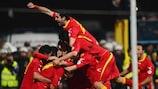 Montenegro é líder-surpresa do Grupo H