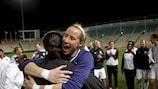 Karen Bardsley leads England's celebrations