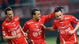 Gaël Danic (R) is set to join Lyon