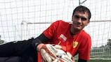 Vladimir Gabulov est l'un des trois joueurs à avoir quitté l'Anji pour le Dinamo
