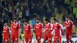 O Benfica deixou Istambul com uma derrota por 1-0