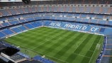 The Santiago Bernabéu will be partially closed for one UEFA club competition match