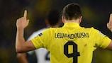 Lewandowski tra le nuvole
