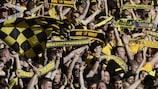 Die BVB-Fans stellten einen neuen Quali-Zuschauerrekord auf