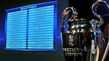 First and second qualifying round draw results