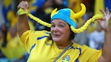 Sweden players were touched by the support they received in Gothenburg