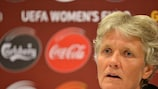 Pia Sundhage is demanding her Sweden players give a bit extra against Finland