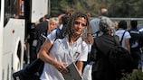 A capitã da Itália, Patrizia Panico, sabe que um ponto garante o apuramtento