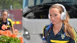 Kosovare Asllani will come up against Sweden team-mates when PSG visit Tyresö