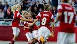 Denmark complete the quarter-final lineup