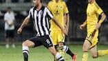 Szenen aus dem Spiel zwischen PAOK und Metalist