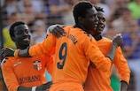 Ismaël Fofana (No9) enjoyed a successful 18-month stint at Shirak