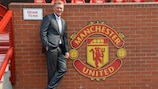 The new Manchester United manager David Moyes
