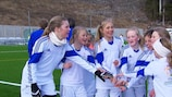Girls' football has always been a priority for the Football Association of Norway (NFF)