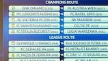 Milan-PSV tie headlines play-off draw