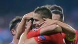 Plzeň feiert den Einzug in die Gruppenphase