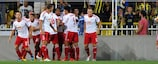 Salzburg setzte sich mit insgesamt 7:0 gegen Žalgiris durch