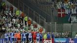 Esbjerg fB feiert den Einzug in die Gruppenphase