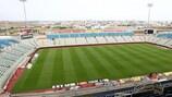 The GSP Stadium in Nicosia, home of APOEL