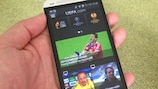 Follow the Champions League on your mobile
