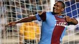 Florent Malouda equalised for Trabzonspor