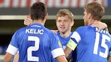 Slovan Liberec reached last season's round of 32 from the second qualifying round