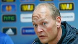 """Niels Frederiksen, do Esbjerg, reagiu a um """"bom sorteio"""""""