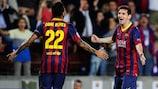 Messi treble downs Ajax in opening Barça spree