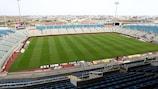 El GSP Stadium de Nicosia, hogar del APOEL