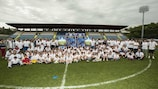 A big celebration of grassroots football in Serravalle