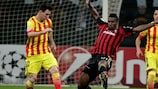 Milan hold Barça in Group H summit meeting