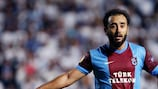 Olcan Adın's late free-kick made sure of the points for Trabzonspor