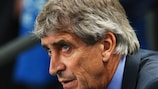Manuel Pellegrini was given food for thought by City's home defeat against Bayern