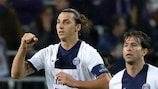 Four-goal Ibrahimović leaves Anderlecht in a spin