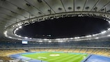 The workshop was held at the NSC Olimpiyskiy Stadium, venue for this season's UEFA Champions League final