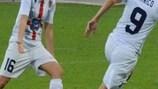 Patrizia Panico festeja depois de marcar o segundo golo das italianas do Torres, ante o Rossiyanka