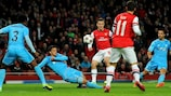 Wilshere keeps Arsenal in pole position