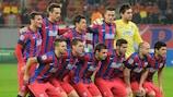 O Steaua competiu na fase de grupos da época na passada