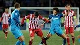 Zenit salvage home draw with Atlético