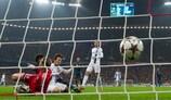 David Silva pulls a goal back for Manchester City