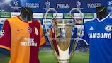 Galatasaray and Didier Drogba will welcome Chelsea to Istanbul