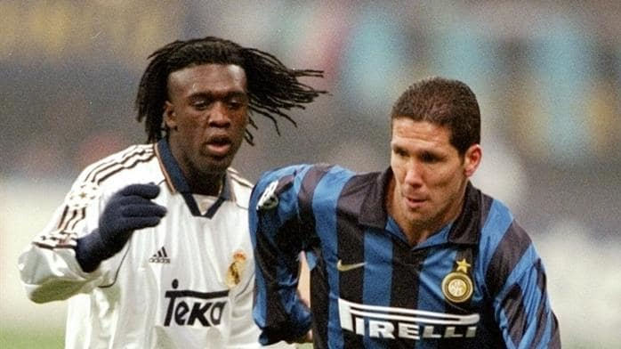 seedorf and simeone take rivalry to new stage uefa champions league uefa com uefa champions league