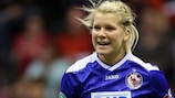 Ada Hegerberg scored Potsdam's first goal of 2014 at the weekend