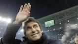 Antonio Conte et la Juventus espèrent être en finale à Turin