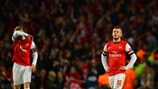 Oxlade-Chamberlain finds positives in defeat