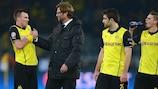 Relieved Dortmund vow to improve