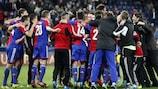 Ten-man Basel recover to stun Salzburg